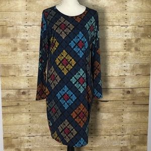 LULAROE DEBBIE DRESS NWOT XL( 16-18)